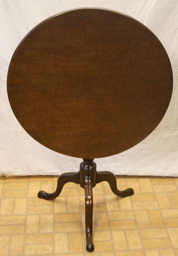 A George III mahogany supper table