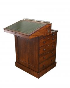 Regency rosewood Davenport/williamsantiques