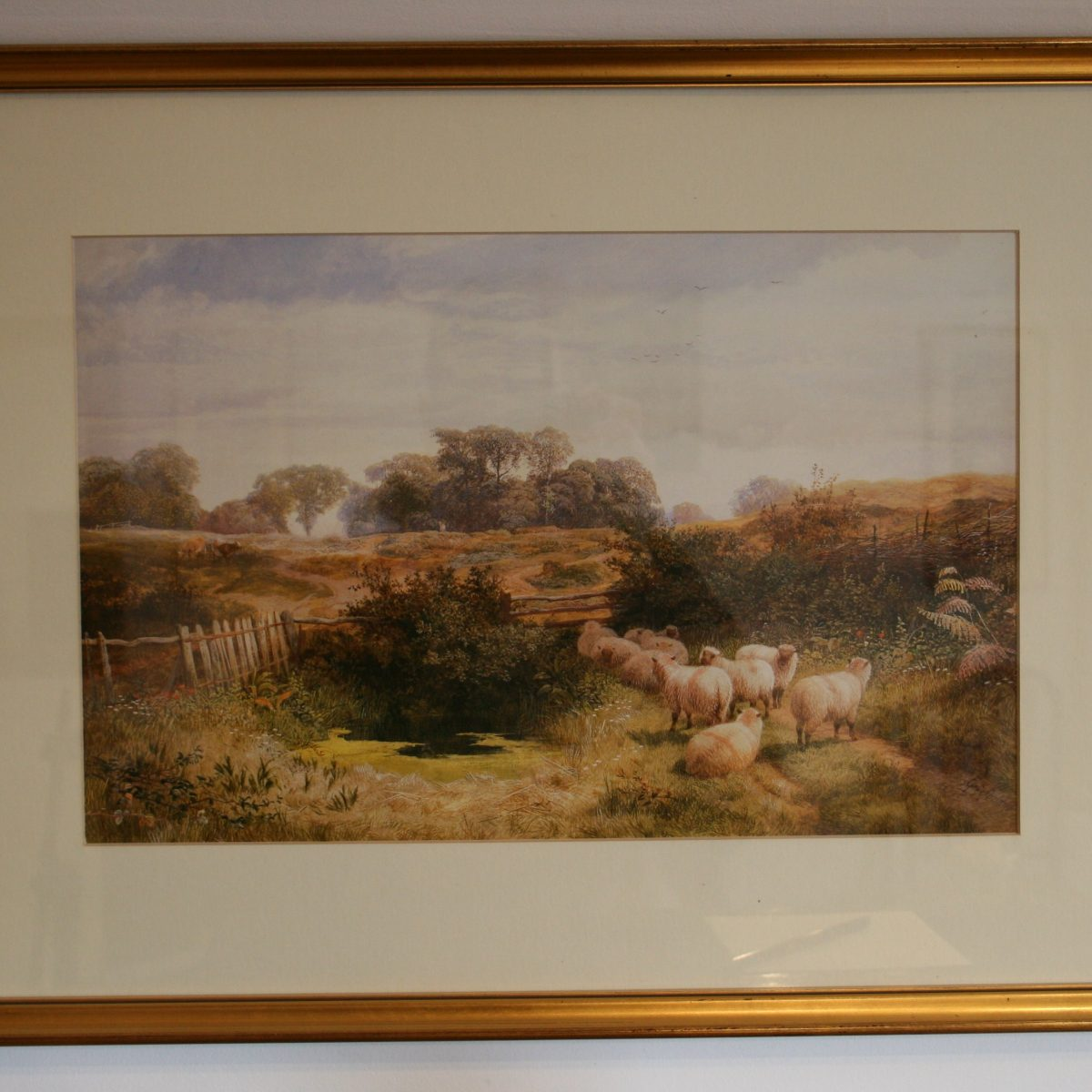 watercolour by George Shalders/williamsantiques