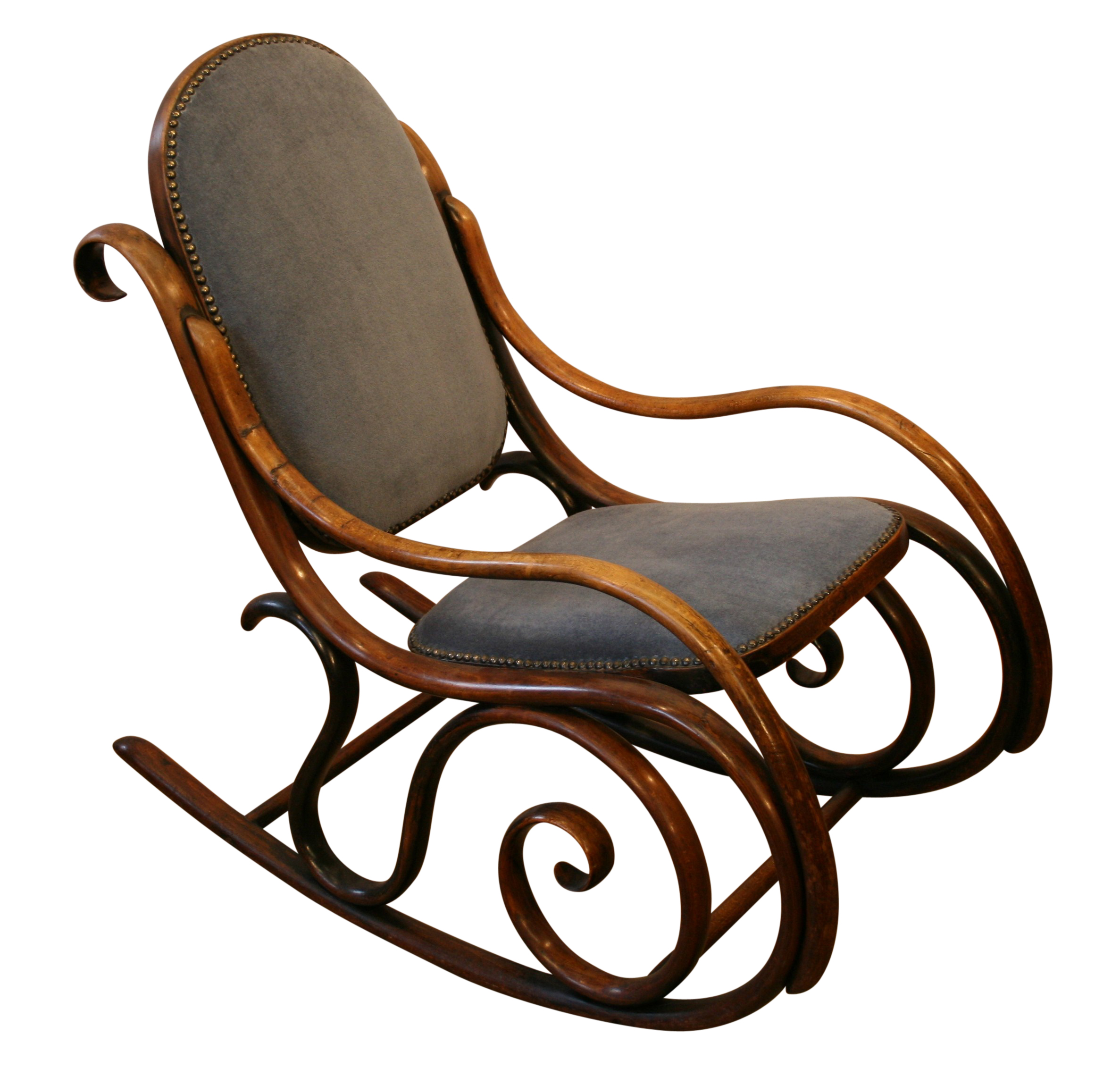 ... And Imitations Are Still Made Today This Chair Is A Particularly Good  Example Of Their Style Of Work. Antiquebeechbentwoodrocking Chairvictorian