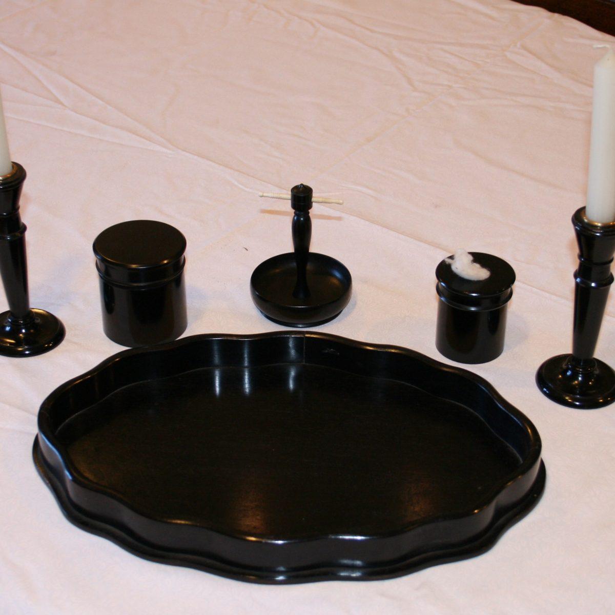 5 piece dressing table set/williamsantiquesbedford