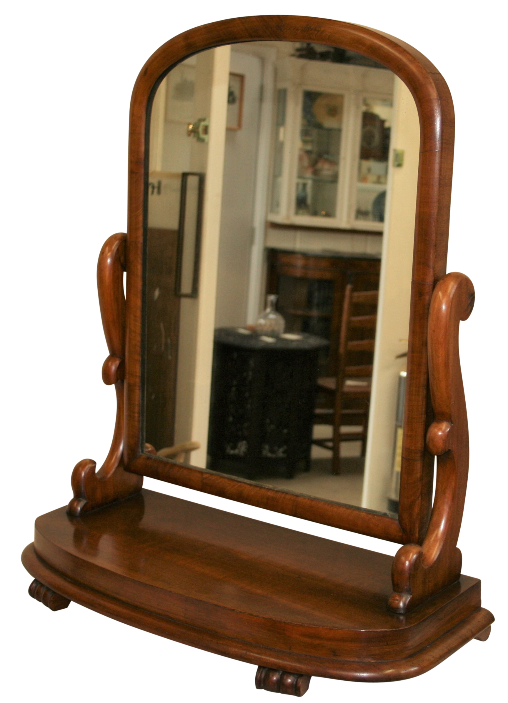 A Late Victorian Antique Mahogany Toilet Or Dressing Table