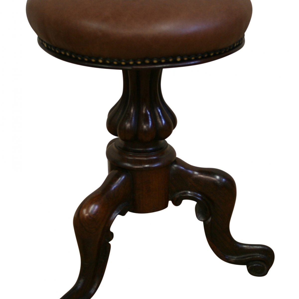 Victorian rosewood piano stool/williamsantiques