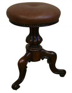 Victorian rosewood piano stool/williamsantiques
