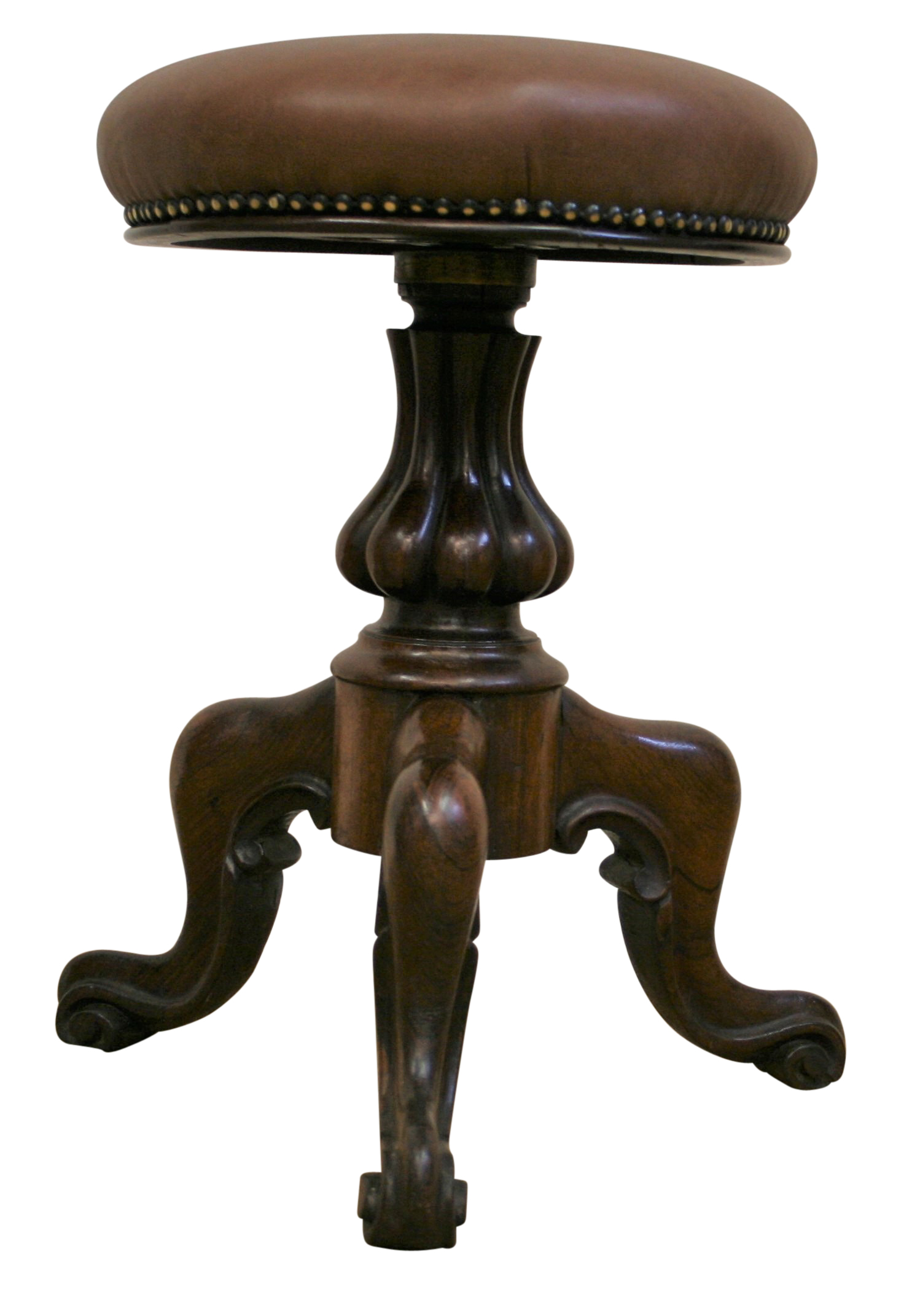 An Antique Victorian Rosewood Piano Stool Williams Antiques
