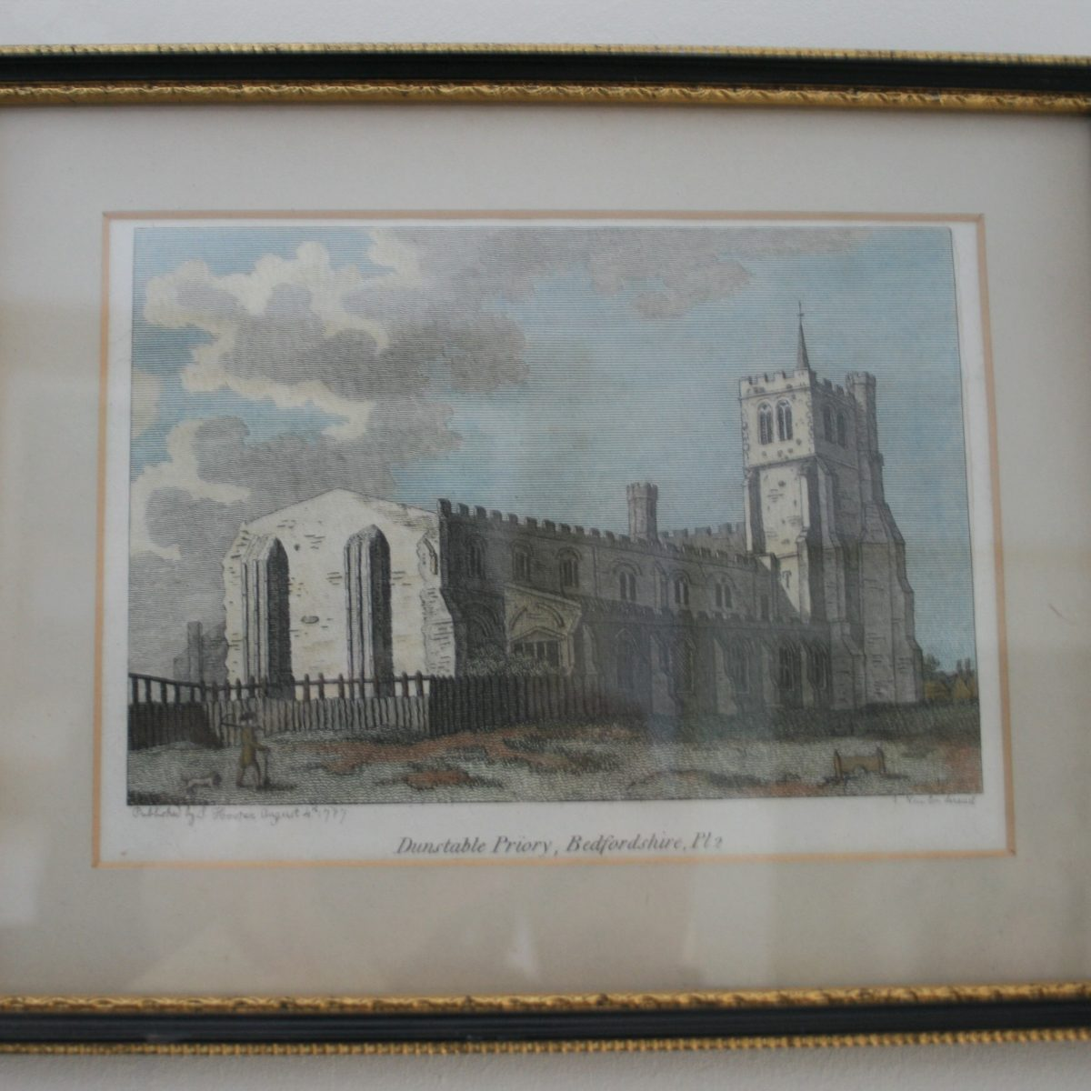 copperplate of Dunstable priory/williamsantiques