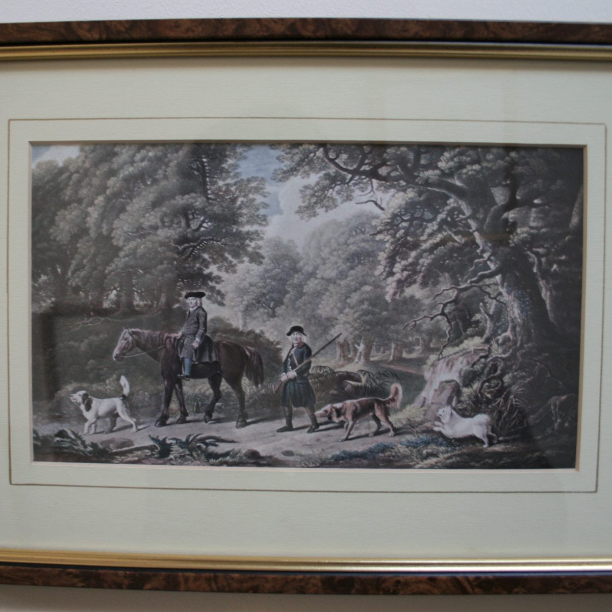 Edwardian print in the country/williamsantiques