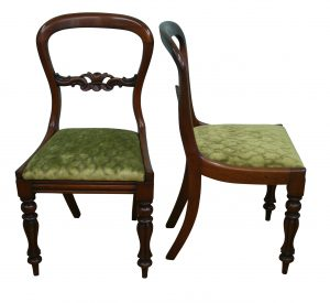 Victorian balloon back side chairs/williamsantiqesbedford