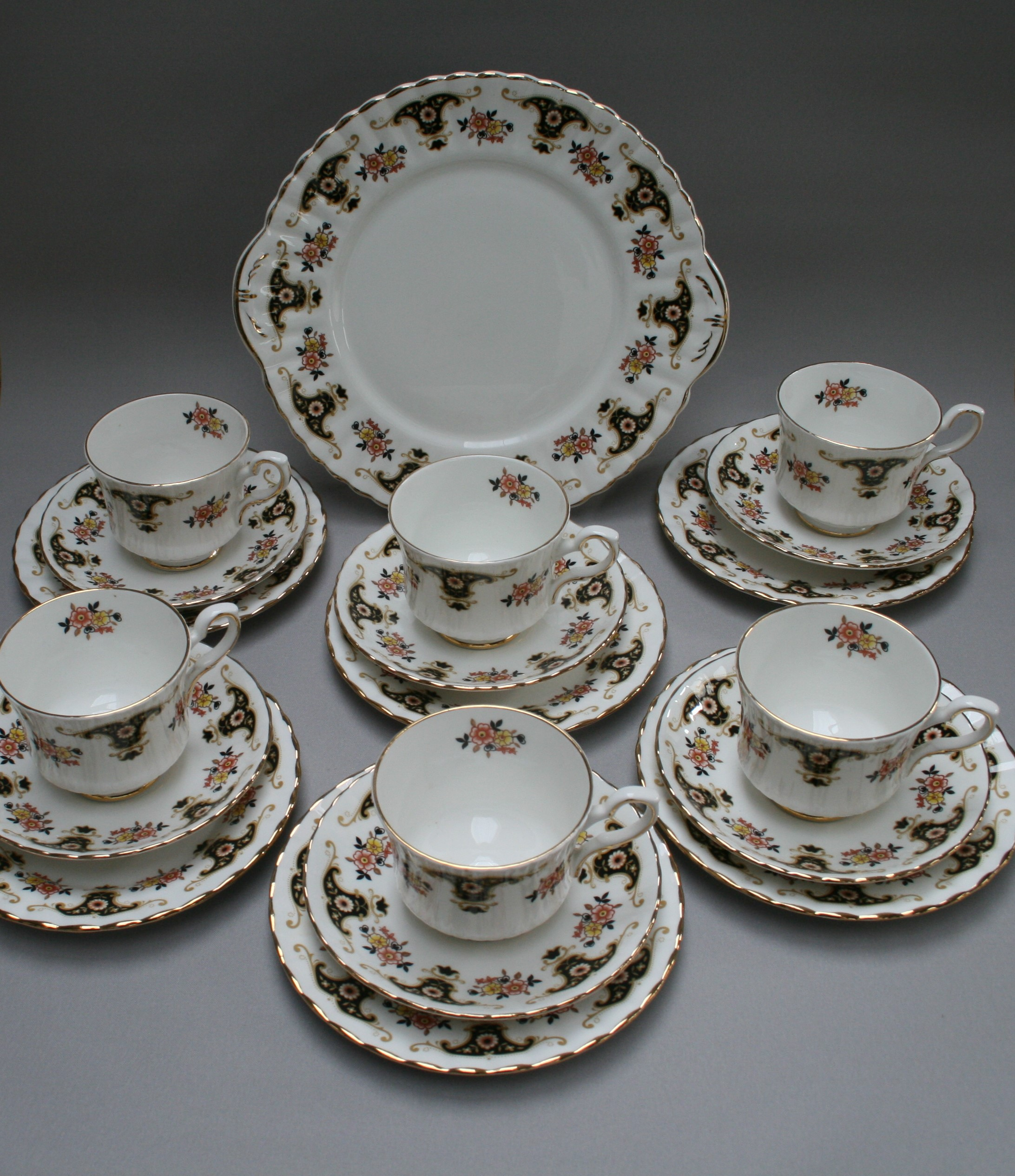 This product is available for sale at Williams Antiques serving Bedford St.Neots and Cambridge. & An antique Royal Stafford Bone China \u0027Balmoral design\u0027 tea set