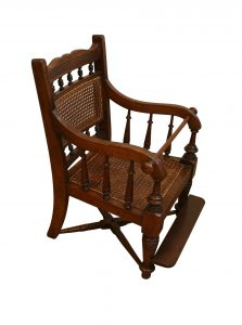Edwardian mahogany childs chair/williamsantiques