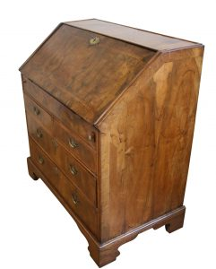 George I walnut bureau/williamsantiques