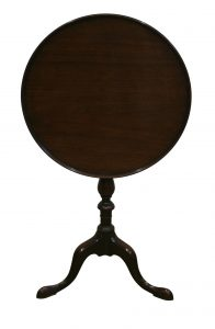 Georgian mahogany tray-top tripod table/williamsantiques