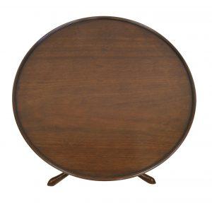 Georgian mahogany tray-top tripod table/williamsantiques