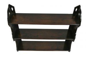 Edwardian mahogany hanging shelf/williamsantiques