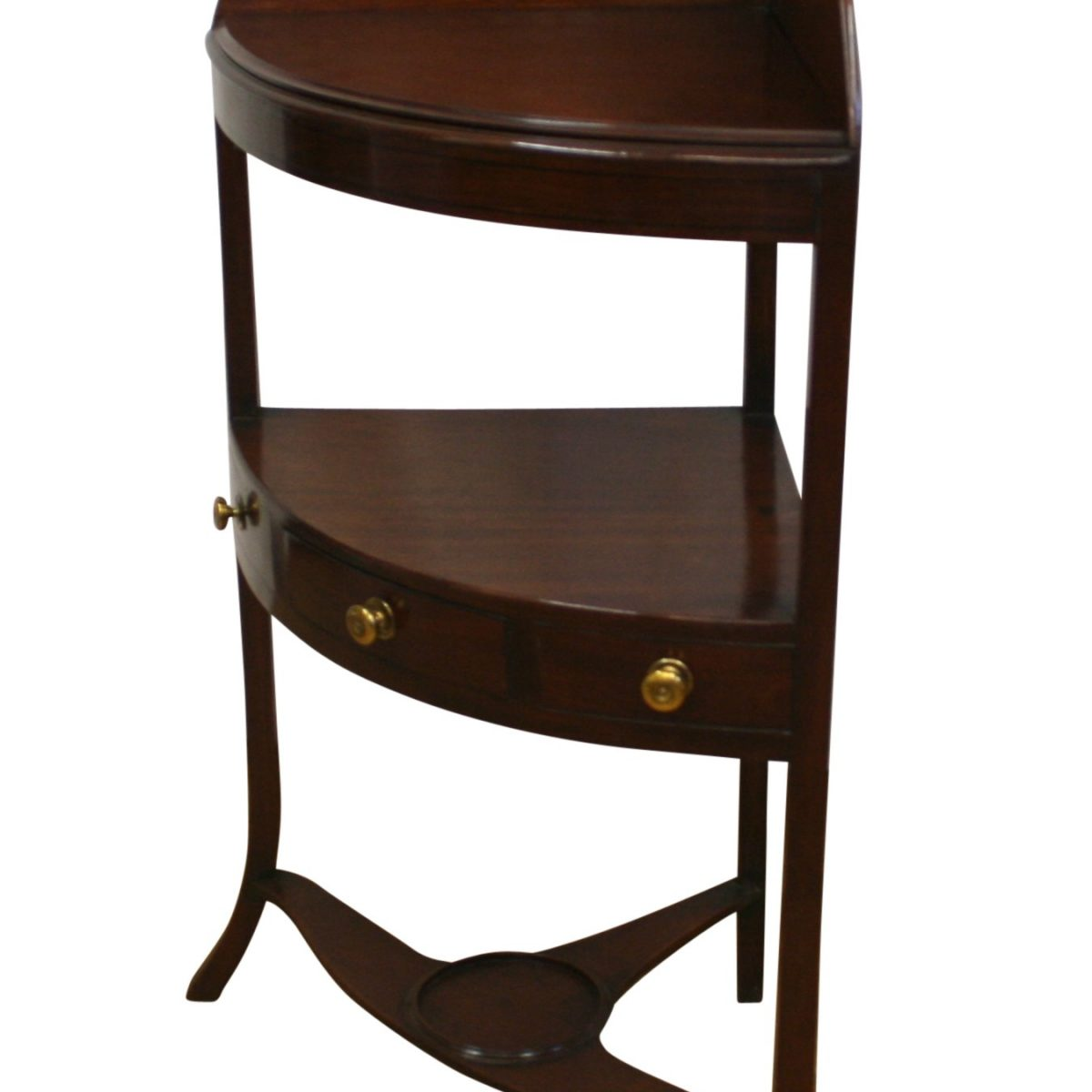 Regancy mahogany corner washstand/williamsantiques