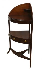 Regancy mahogany corner washstand/williamsantiques