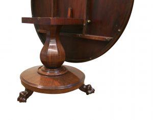 William IV mahogany tilt top breakfast table/williamsantiques