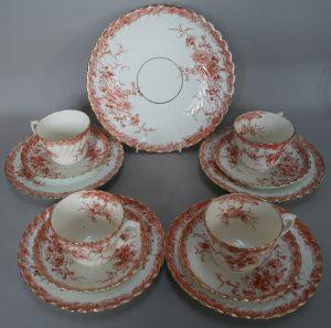 A china tea set/williamsantiques
