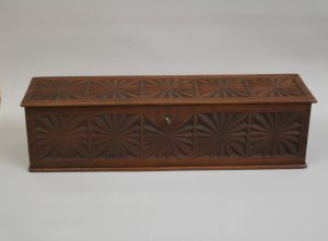 American black walnut decorative documents box/williamsantiques