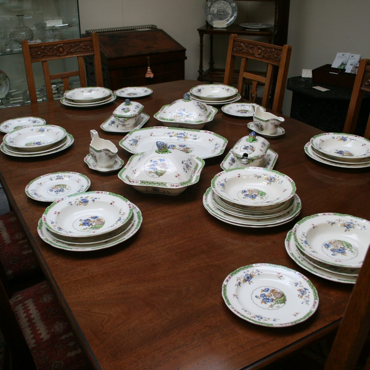 Copeland Spode dinner service in the Chinese pattern/williamsantiques