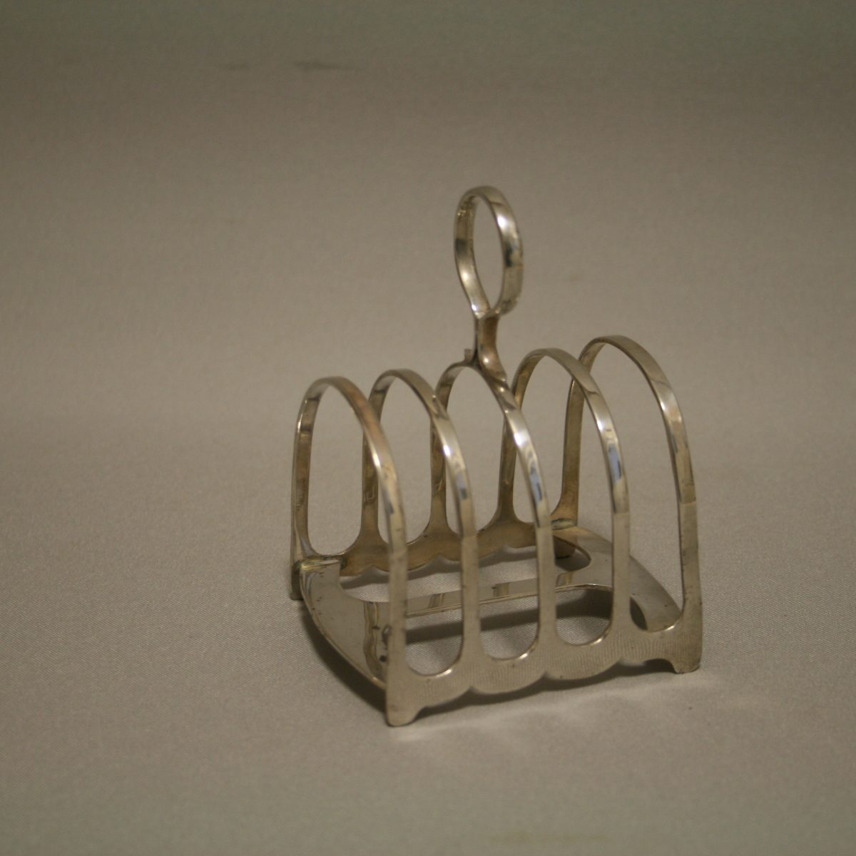 Art Deco silver 4 slice toast rack/williamsantiques