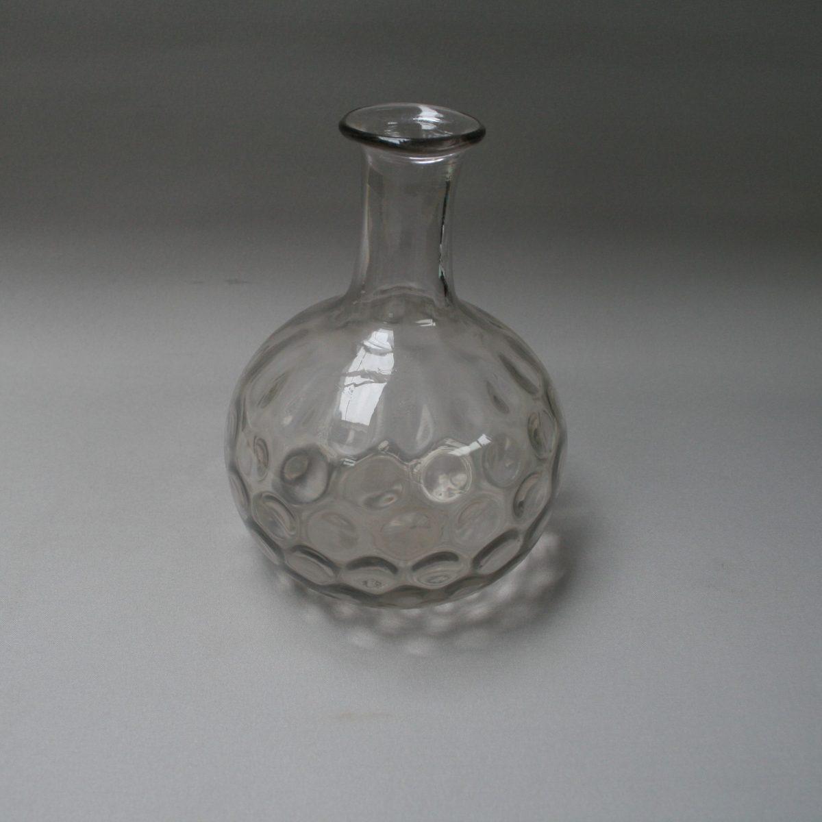 Victorian staft and globe glass carafe/williamsantiques