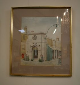 watercolour by Martin Redmayne/williamsantiques