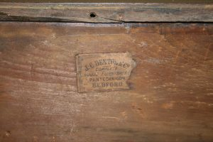 Victorian mahogany duchess dressingtable