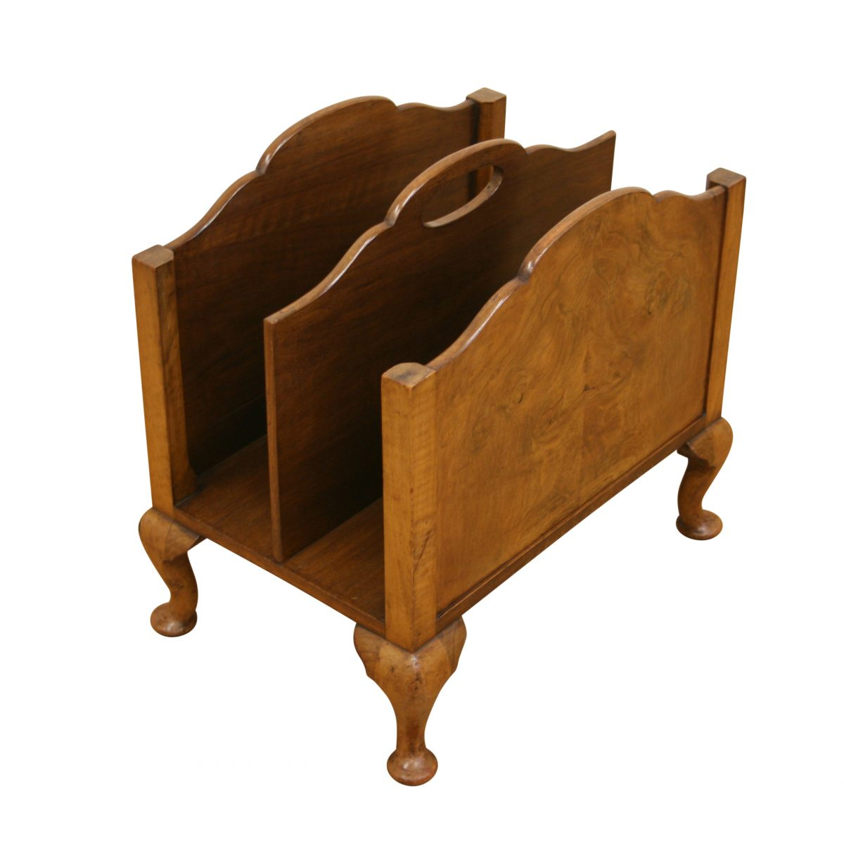 Waring & Gillows Art Deco magazine rack/williamsantiques