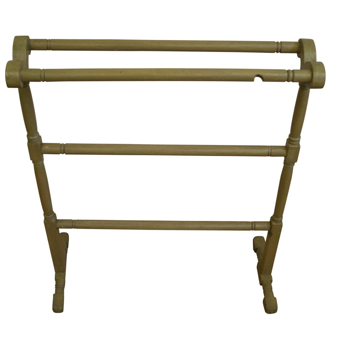 Victorian pitch pine towel rail/williamsantiques