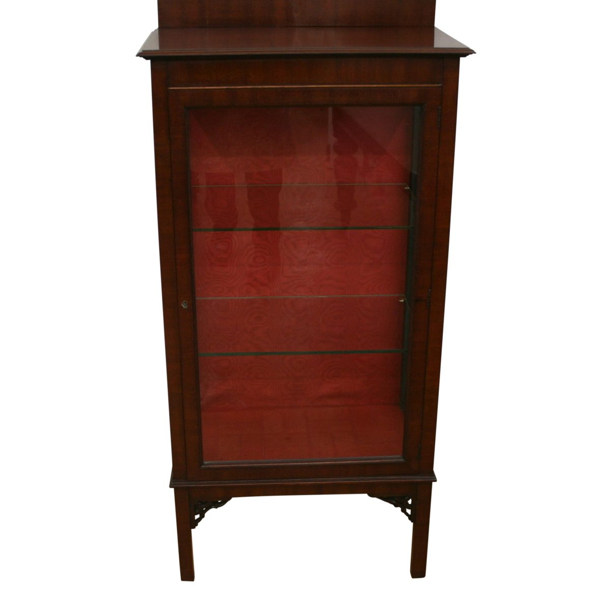 Edwardian mahogany display cabinet/williamsantiques