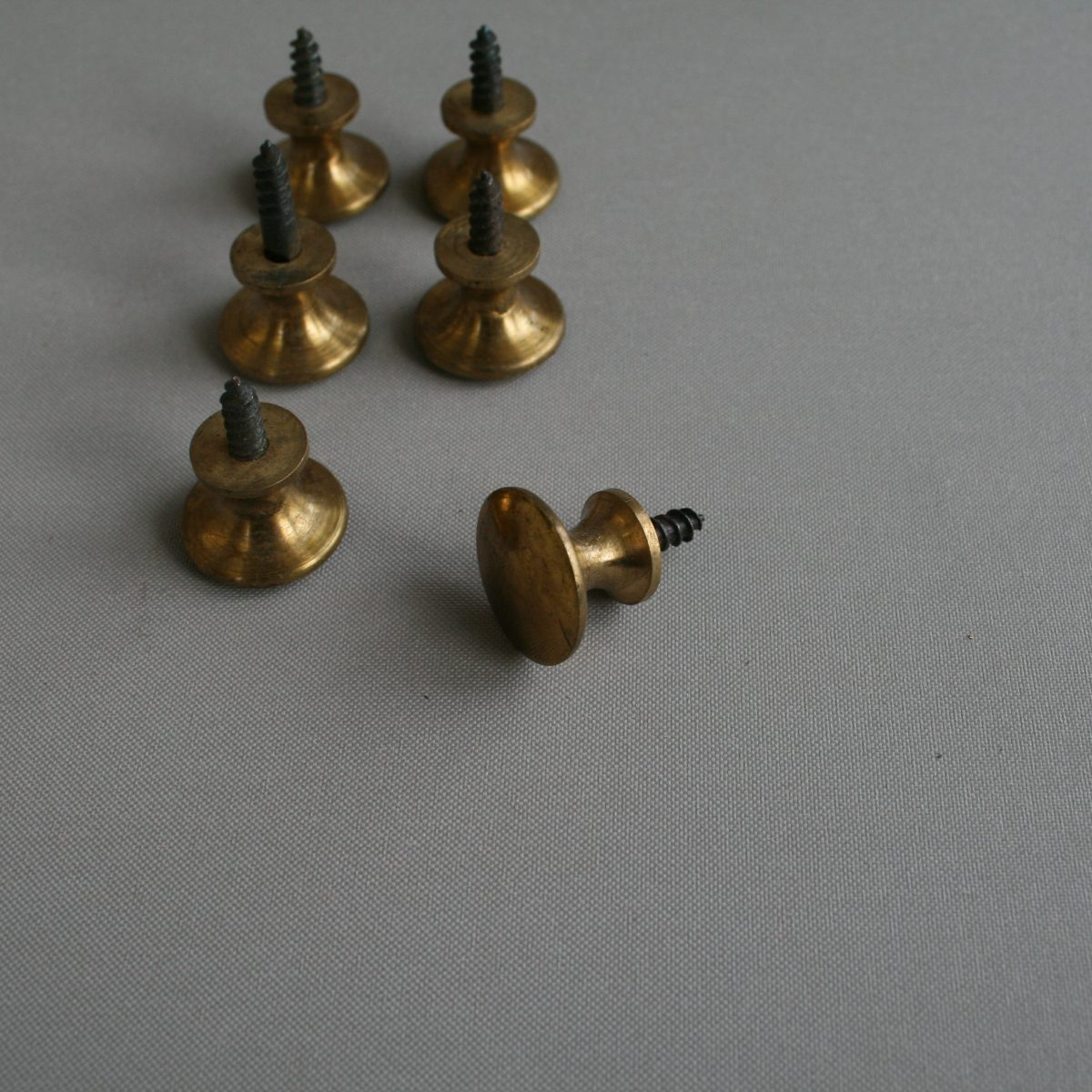 antique brass knob handles /williamsantiques