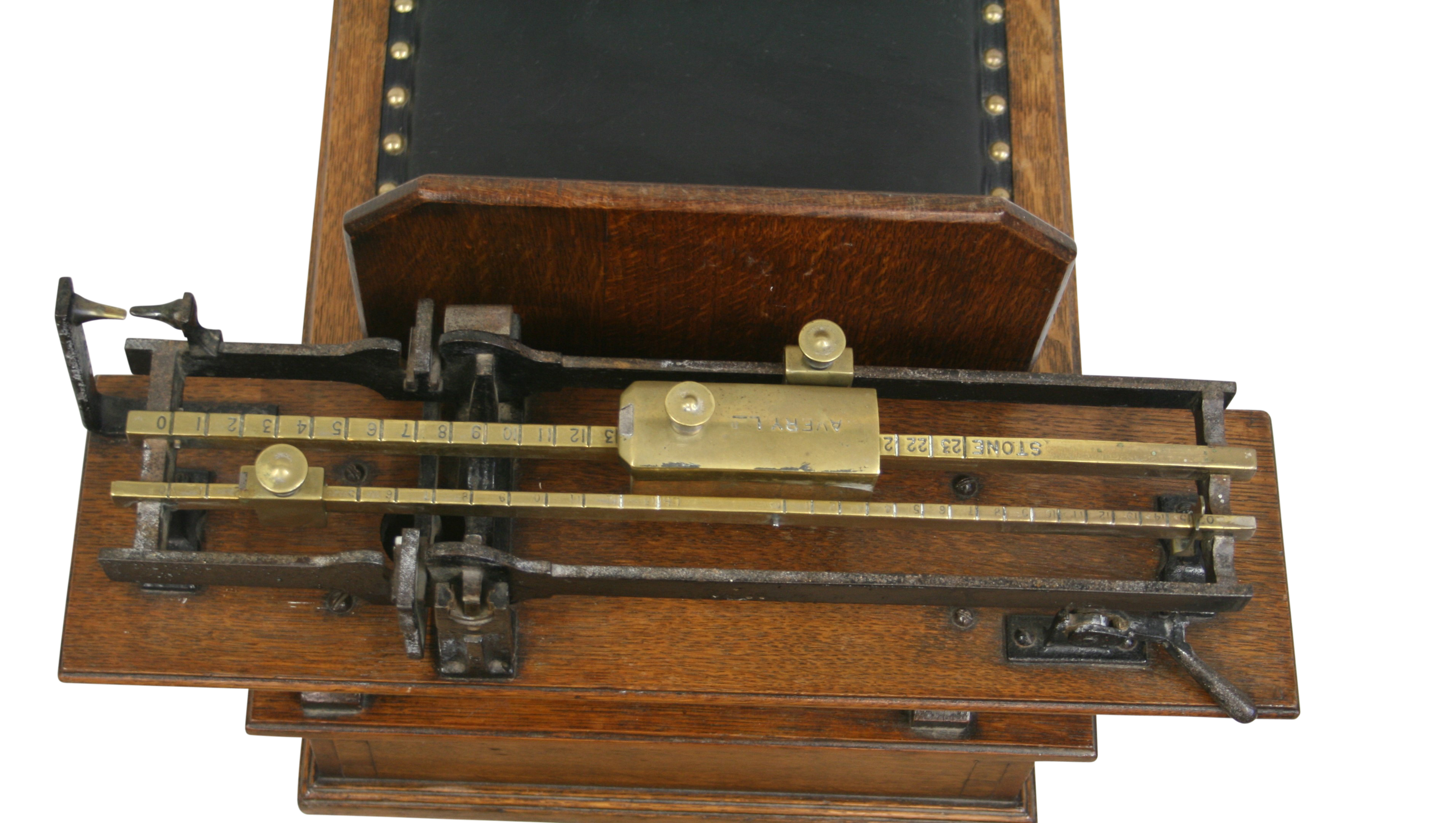 A Set Of Victorian Weighing Scales Made By Avery Of