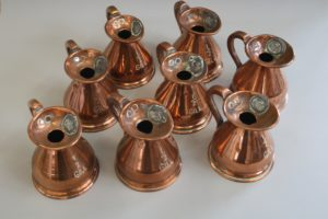 1/2 gill copper jug/williamsnatiques