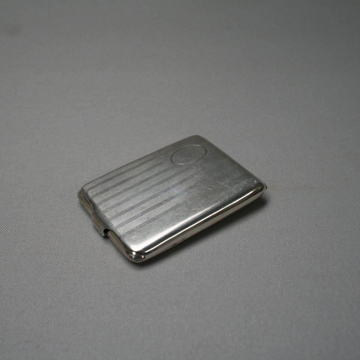 silver matchbox case/williamsantiques