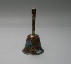 cloisonné hand bell/williamsantiques