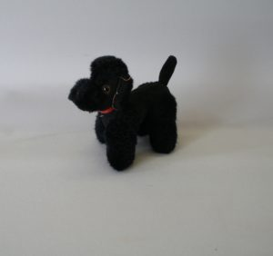 Steiff black poodle/williamsantiques