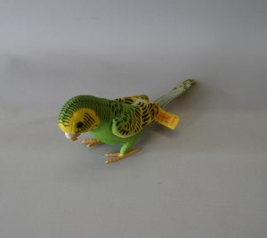Steiff Hansi green parakeet/williamsantiques