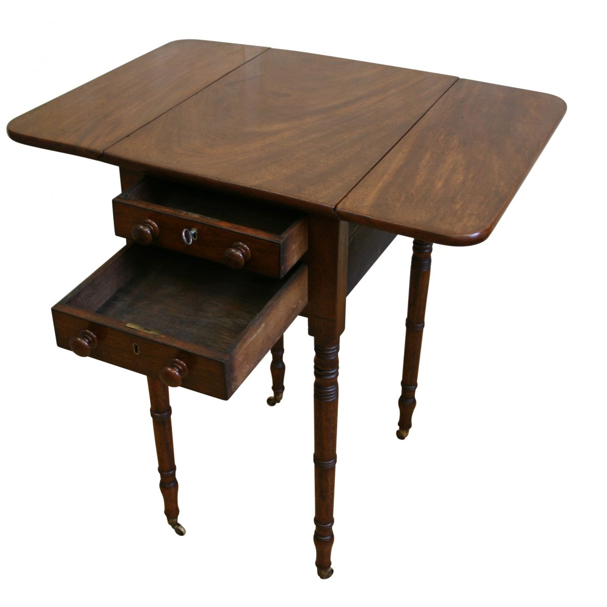 Georgian mahogany Pembroke table/williamsantiques