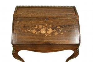 French rosewood bureau de dame/williamsantiques