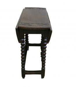 William and Mary period oak gate-leg table/williamsantiques