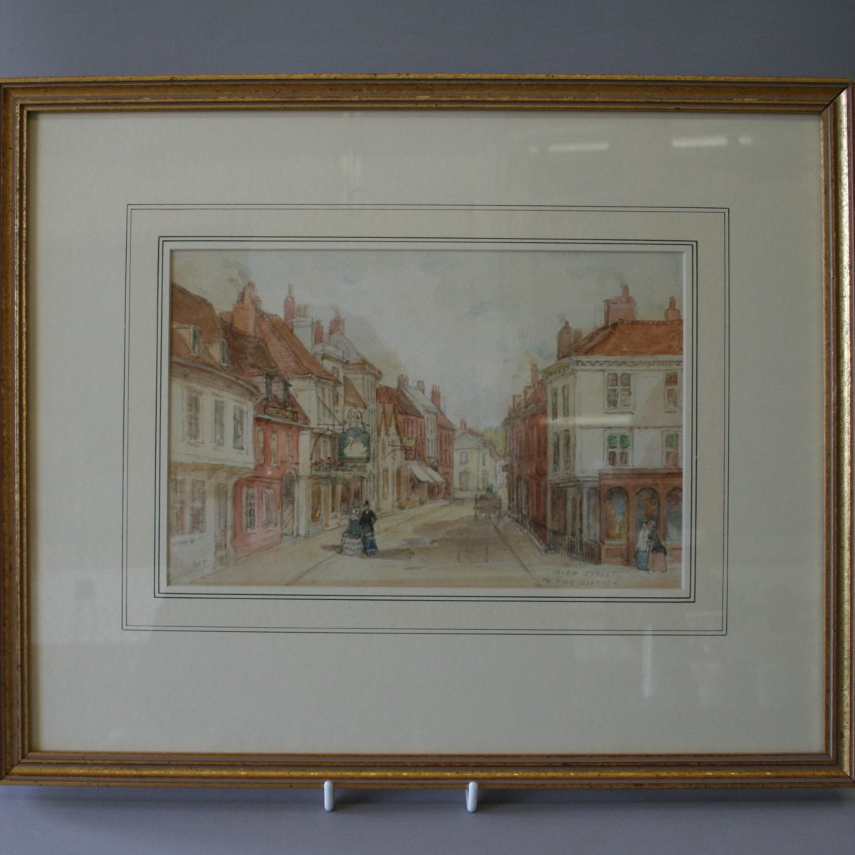 original watercolour by Margaret Thompson/williamsantiques