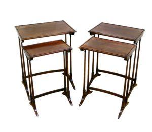 Edwardian quartetto nest of mahogany tables/williamsantiques