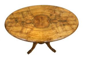 Edwardian walnut side table/williamsantiques