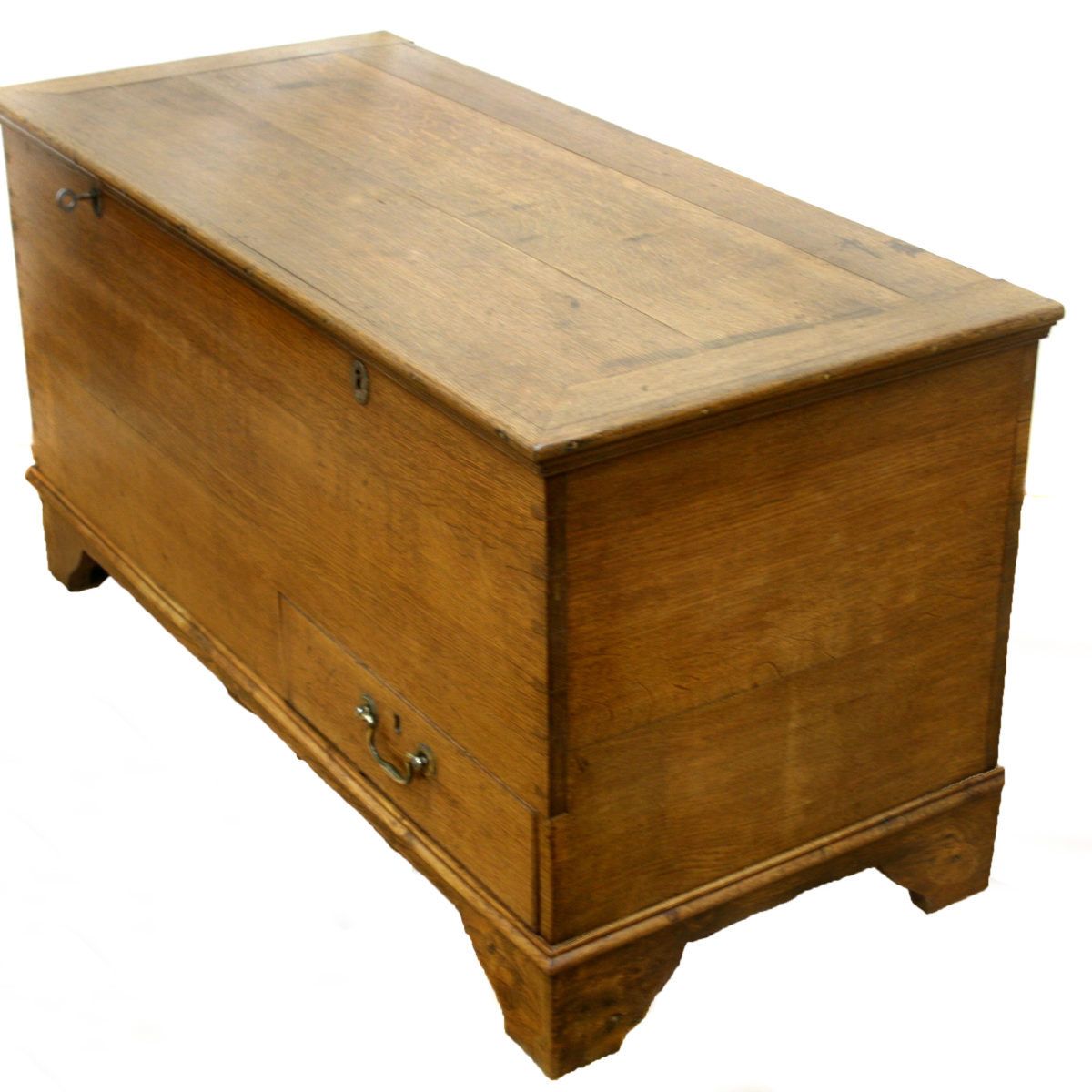 Georgian oak mule chest/williamsantiques