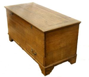 Georgian oak mule chest/williamsantiques