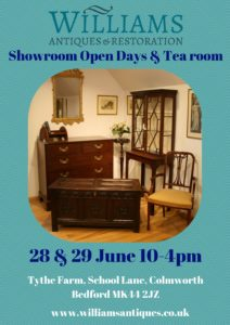 Showroom open days/williamsantiquesbedford
