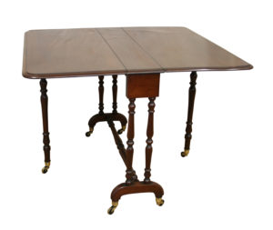 Victorian solid mahogany Sutherland table/williamsantiques