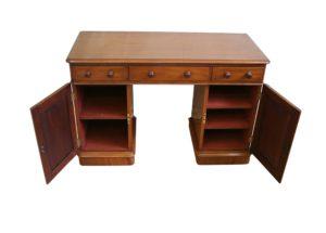 Victorian mahogany pedestal desk/williamsantiques