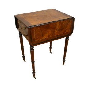 Regency mahogany Pembroke table/williamsantiques